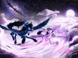 REQUEST Dark Glimmer: Starlight Cathedral by GhostDragonSpirit