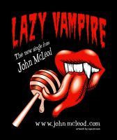 'Lazy Vampire' Promo Art Red by Huwman