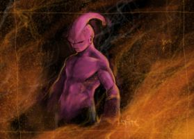 rise of majin buu by theraven93