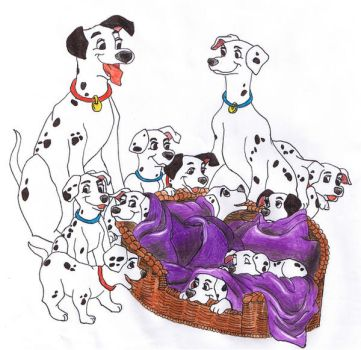 101 Dalmations by schrammettes-big-sis
