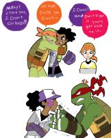 some more TMNT by ActionKiddy
