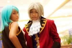 Young Franziska and Bratworth by luckysevenstars