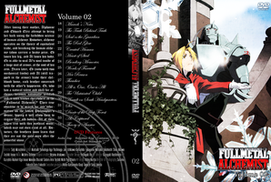 Fullmetal Alchemist DVD cover2 by cromossomae
