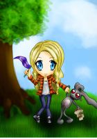 Chibi me xD by AEdelline