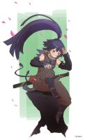 Log Horizon - Akatsuki by FF69