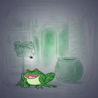 Angela's Magic Lesson - Very Ribbiting by Mr-DNA