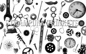 Photoshop Brush Steampunk Trinkets by Joy-F