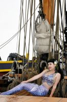 Mermaid In Storybrooke on Jolly Roger Set by EarthFairy