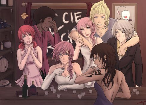L'cie partay by RedKid11