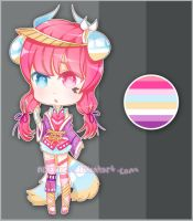 Kibu Adoptable Auction [CLOSED] by NoizRnel