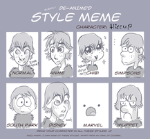 Hiccup Style Meme by Lisannexx