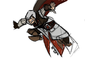 more ezio sketcharoonies by water-wing