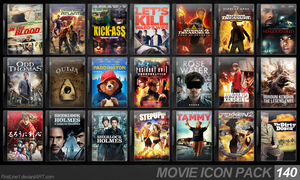 Movie Icon Pack 140 by FirstLine1