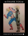 APH Captain America and the Maple Soldier by ThatKidSid426