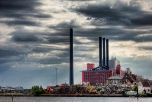 Power Plant by Stilfoto