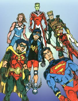 Justice League Jr. by herrenmedia