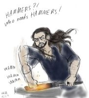 HAMMERS? by sparklingblue