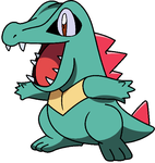 totodile by Thunderwest