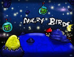 Angry Birds in Space by DrGengar