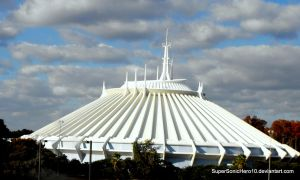 Space Mountain by SuperSonicHero10