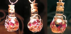 Magic Vial - Garden Rose by Izile