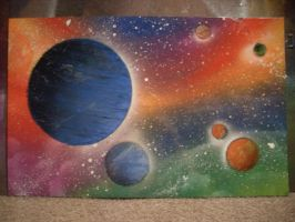 Space Painting 4 by Kelden17