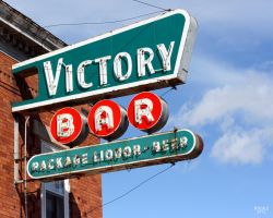 Victory Bar Sign by W9DAZ