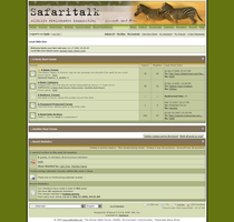 Safaritalk.net Forum Skin by MetalFrog