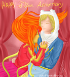Happy Flinn Anniversary by Ask-Flame-Princess