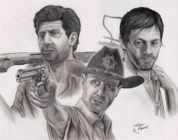 Walking Dead by greyfoxdie85