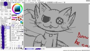 WIP of a... Cat, I guess c: by Tsuki-Holley-Ashe