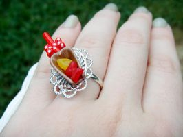 Minnie's Candy Shop Ring by kjtgp1