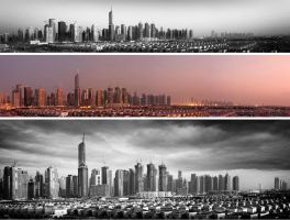 panoramic Dubai.. by almiller