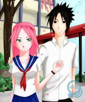Hold My Heart by adikk by NaruHina--SasuSaku