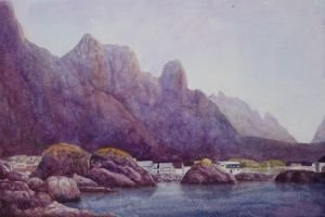 Leaving Svolvaer by EinarAasen