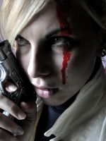 Riza Hawkeye-Fighter by LilywhiteBlack