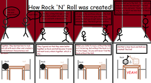 How Rock and Roll was created! by GothicRockerGirl
