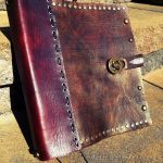 Leather book by Oblivionleather76