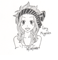 .:Fairy Tail- Cute Levy:. by By-Blythlee