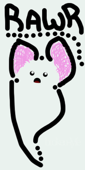 ghost.mouse.bat...thing? + TAG by Broken-Lyfe