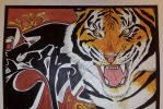 .Graffiti Tiger. by CheshireSmile