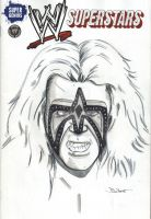 Ultimate Warrior Sketch Cover by MarkPoulton