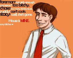 House MD.Why Wilson?Why not... by Ery-chan