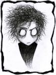 Tim Burton by Vanilca