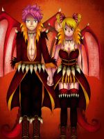 The dragon and the dragoness: NaLu by sandra020