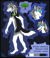 Gwaine ref sheet commission for Grace by StanHoneyThief