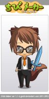 Bodil40 on chibi maker by DanaWolfsMC