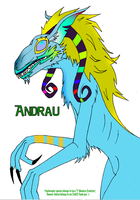Andrau the Psychoraptor by yak23