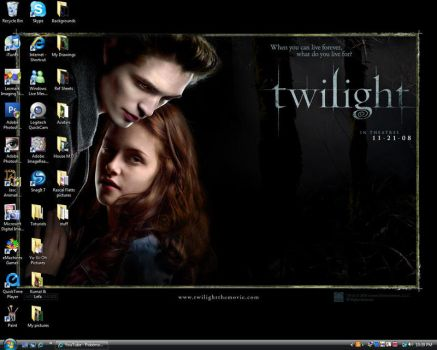 Twilight Desktop by kyubigirl