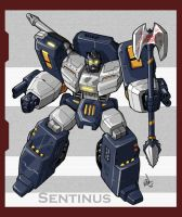 TF Fan Character: Sentinus by VegetaPrime